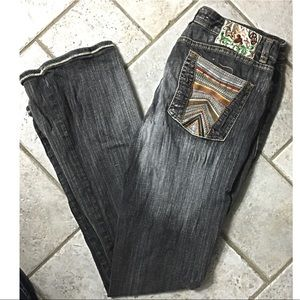 Pepe Vintage High Waisted Jeans Black 30